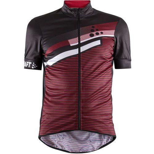 Craft Koszulka z krótkim rękawem reel graphic czarny-czerwony / rozmiar: xl