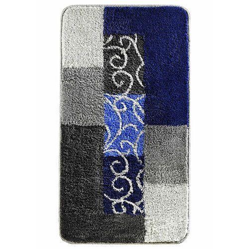 Dywaniki łazienkowe z miękkim tuftowanym runem bonprix niebiesko-szary