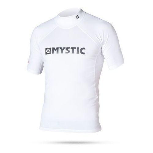 Mystic Lycra  2016 star rashvest junior s/s white