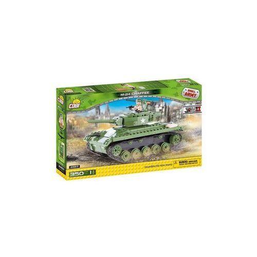 Klocki small army 350 klocków czołg M24 Chaffee 2457