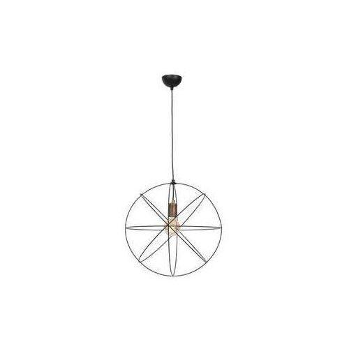 gerid 955 lampa wisząca zwis 1x60w e27 czarny mosiądz marki Luminex