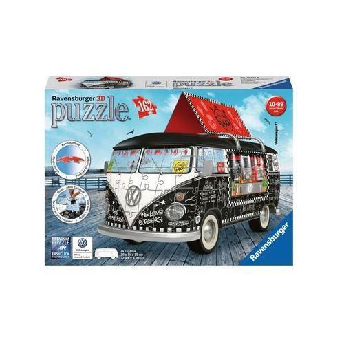Puzzle 3d vw bus food truck 162el. marki Ravensburger