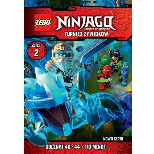 LEGO Ninjago: Turniej Żywiołów. Część 2 (odcinki 40-44) (DVD) - sprawdź w wybranym sklepie