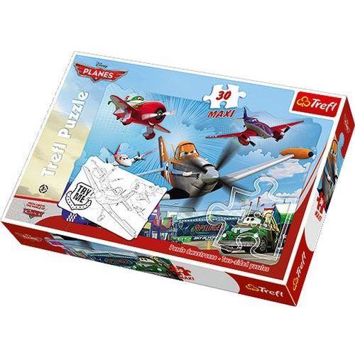 Puzzle 30 Maxi Samoloty Przygody Dusty'ego (5900511144062)