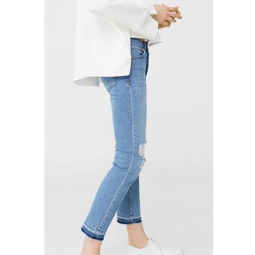 Mango - Jeansy Retro, jeansy
