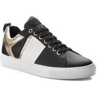 Versace Sneakersy collection - v900714 vm00392 v660h nero/bianco/oro chiaro