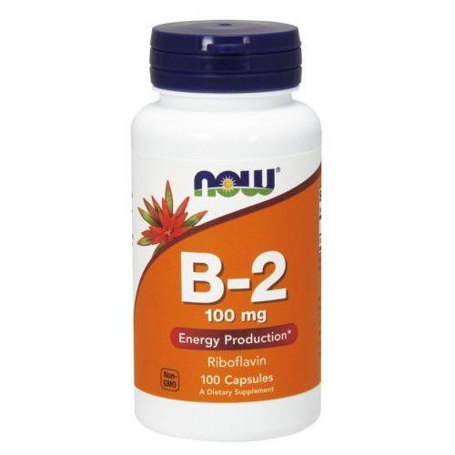 Kapsułki Now Foods, Witamina B-2, 100 mg, 100 kapsułek