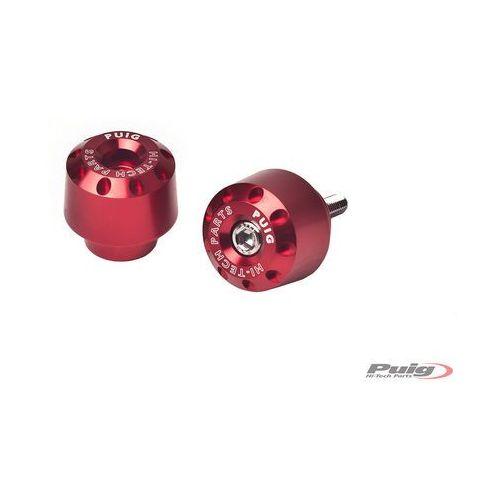 Końcówki kierownicy do Yamaha FZ8 / FZ1 / R6 / R1 (krótkie, czerwone)