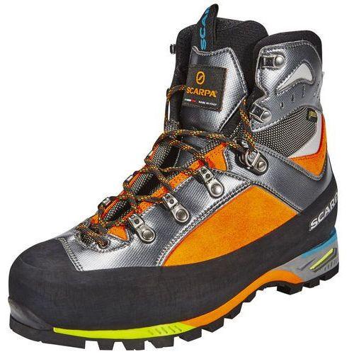 triolet gtx buty mężczyźni szary/pomarańczowy 43,5 2018 buty górskie marki Scarpa