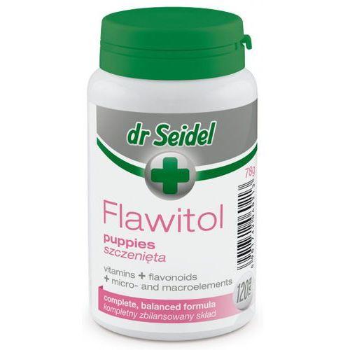 Tabletki Flawitol witaminy dla szczeniąt 120 tabletek