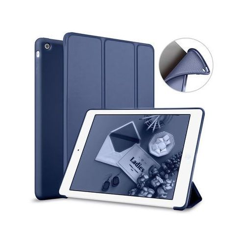 Etui Alogy Smart Case Apple iPad Air silikon Granatowe - Granatowy