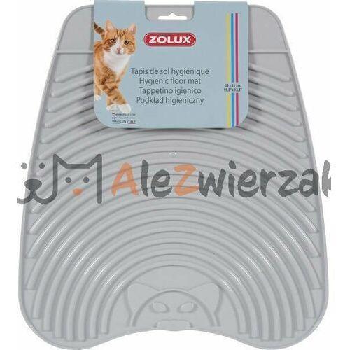 wycieraczka cleaner jasnoszara do toalet dla kotów marki Stefanplast