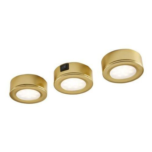 Lampa podszafkowa led esmo 3 x 2,5 w brown/gold marki Colours