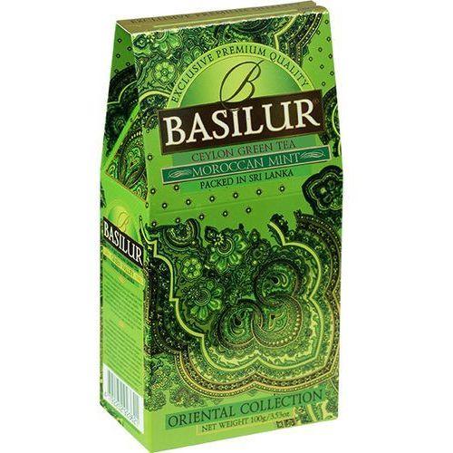 BASILUR 70427 100g Moroccan Mint stożek Herbata zielona liściasta | DARMOWA DOSTAWA OD 150 ZŁ!