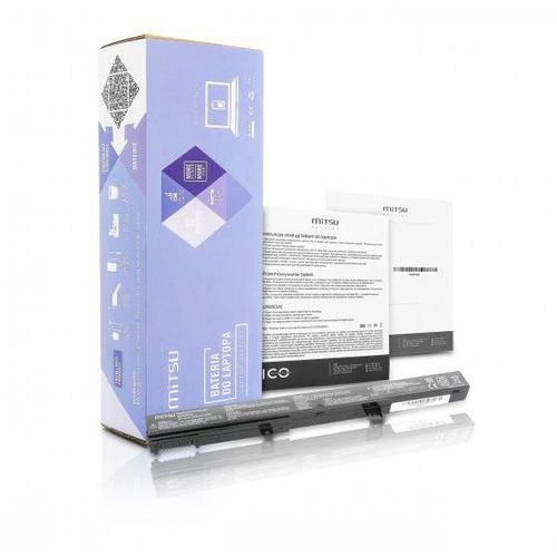 akumulator / Nowa bateria Mitsu do laptopa Asus X451, X551 (2200mAh)