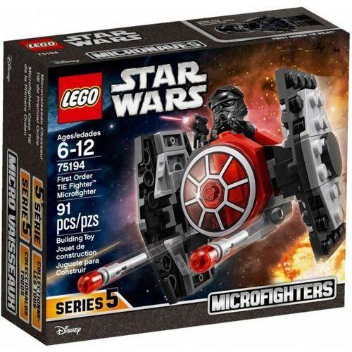 Star wars tm myśliwiec tie najwyższego porządku marki Lego