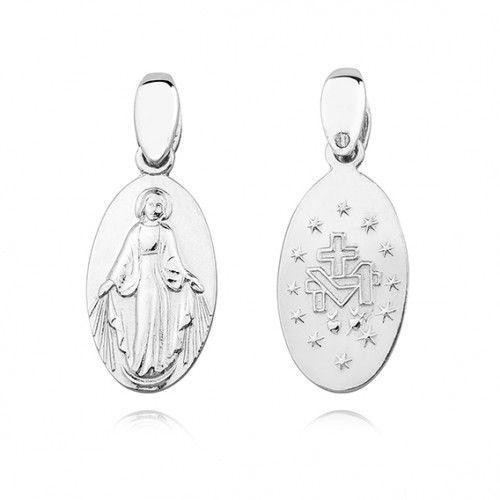 Cudowny medalik z matką bożą, dwustronny marki Produkt polski