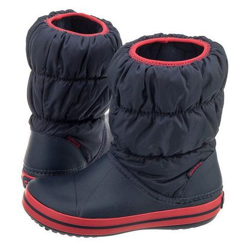 Śniegowce winter puff boot kids navy/red 14613 (cr61-b) marki Crocs