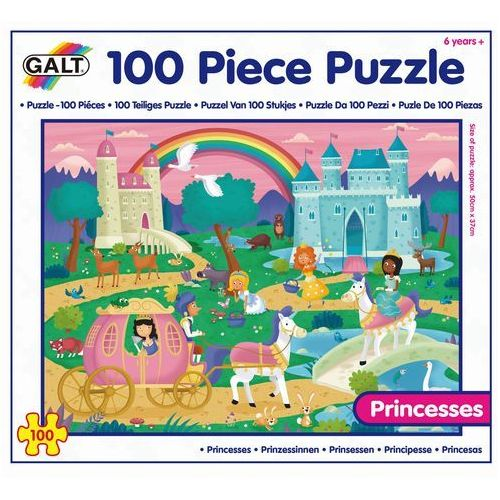 Galt Puzzle 100 szt - Księżniczki