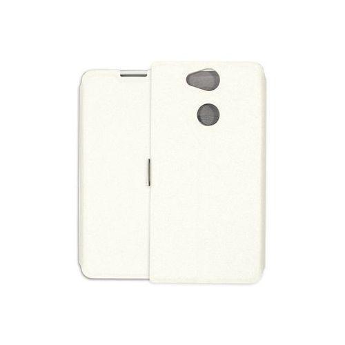 Etuo wallet book Sony xperia xa2 - etui na telefon wallet book - biały