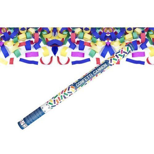 Party deco Tuba strzelająca - kolorowe konfetti - 80 cm - 1 szt. (5901157423146)