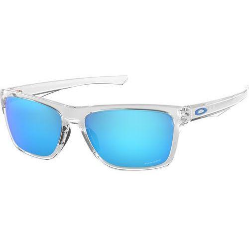Oakley holston okulary rowerowe przezroczysty/turkusowy 2018 okulary przeciwsłoneczne (0888392337238)