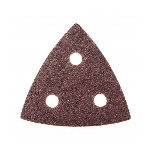 Dedra Papiery ścierne ded794570 trójkątne (5 sztuk)