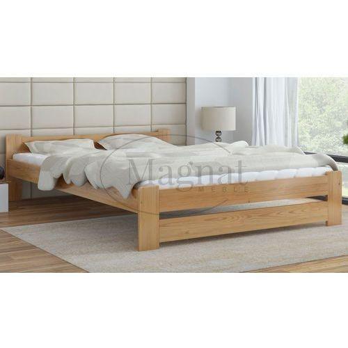 Łóżko drewniane niwa 140x200 marki Magnat - producent mebli drewnianych i materacy