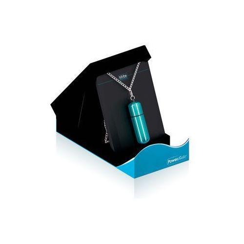 Wyśmienity mini wibrator z łańcuszkiem MiVibe Necklace niebieski, E22600