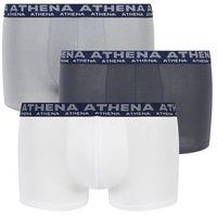 Bokserki basic ze stretchem (3 pary), Athena