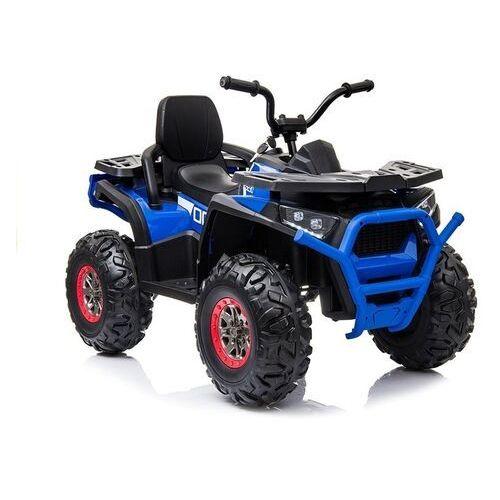 Quad na akumulator 4x4 desert xmx607 niebieski marki Lean