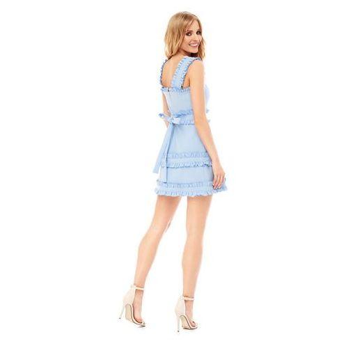 Sukienka Kalmia w kolorze błękitnym, kolor niebieski