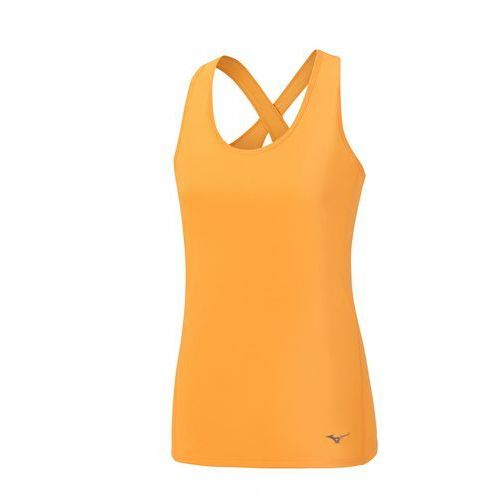Mizuno  w active tank - orange pop (5054698214121)