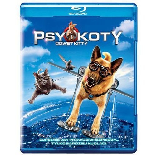 Warner bros. Psy i koty: odwet kitty (blu-ray + dvd)