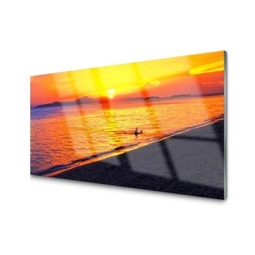 Obraz na Szkle Morze Słońce Plaża Krajobraz