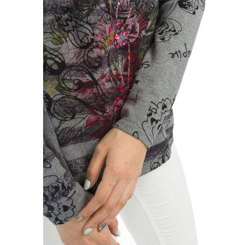 Desigual LIA Sweter gris vigore claro