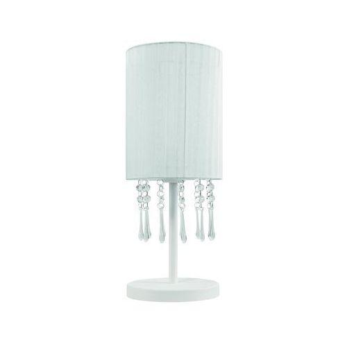 Lampa stołowa Wenecja Biała 153/LM BIA - Lampex - Sprawdź kupon rabatowy w koszyku (5902622103259)