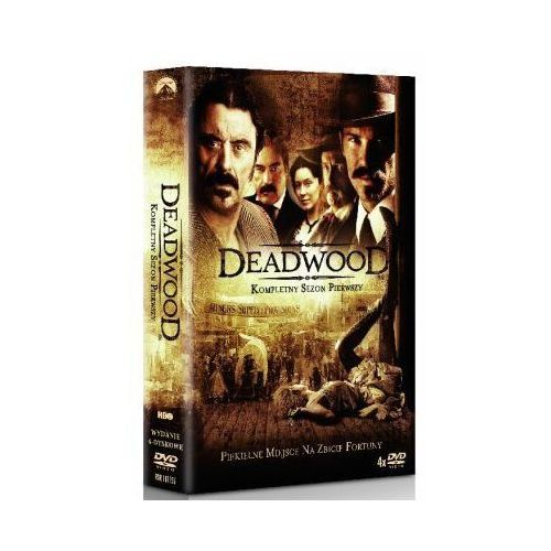Deadwood. sezon 1 [4dvd] - david milch marki Imperial cinepix