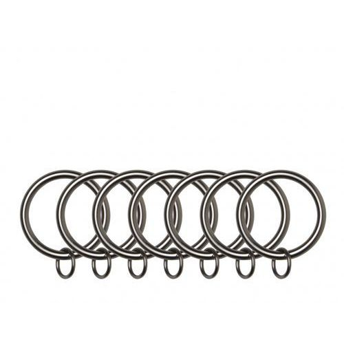 Pierścienie do zasłon i firan  link ring cynowe 7 szt marki Umbra