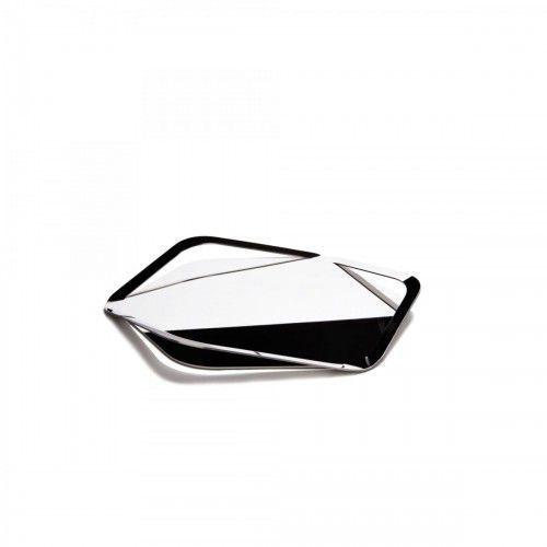 Trattoria stalowa taca 18/10. marki Bugatti