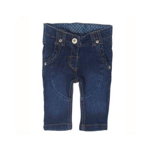 Steiff  girls mini spodnie dżinsowe dark blue denim
