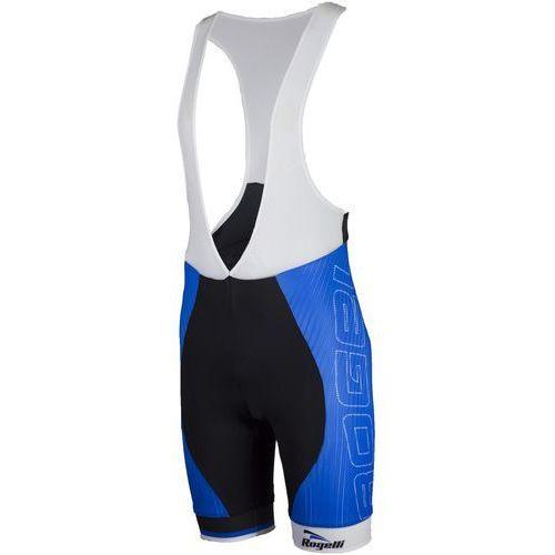Rogelli Andrano - męskie spodenki rowerowe z wkładką żelową (czarno-niebieski)