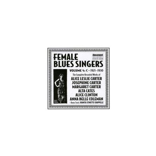 Document records Female blues singers... (0714298550825)