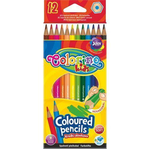 Kredki ołówkowe 12 kolorów Colorino