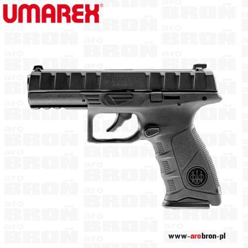 Umarex Pistolet wiatrówka beretta apx 4,5 mm co2 black blowback, metalowy zamek, picatinny, czarny
