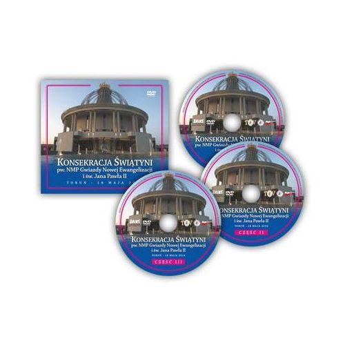Konsekracja Świątyni pw. NMP Gwiazdy Nowej Ewangelizacji i św. Jana Pawła II - produkt z kategorii- Filmy dokumentalne