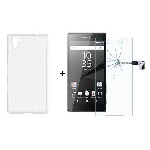 Ultra slim / perfect glass Zestaw szkło ochronne perfect glass + obudowa ultra slim przezroczysta sony xperia z5 premium