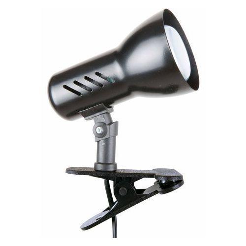 Spotlight Lampa stołowa lampka klips spot light clamspot 1x60w e27 czarna 2110104k (5907795179544)