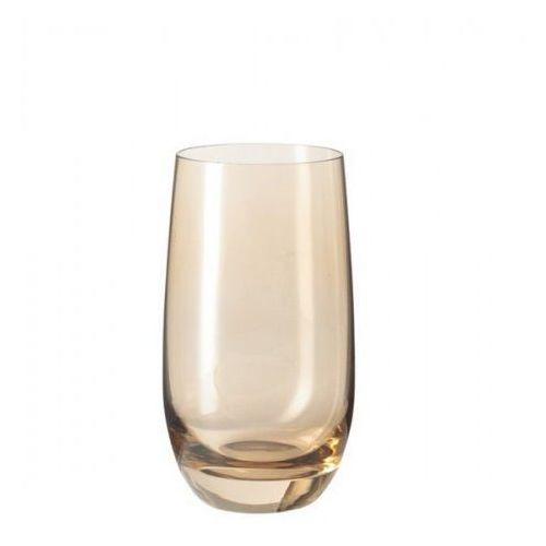 Szklanka wysoka Colori Leonardo brązowa (018041)