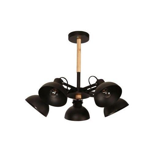 Lampa wisząca LIGHT PRESTIGE LP-4404/5P Terme + DARMOWY TRANSPORT!, kolor Czarny